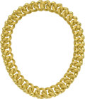Estate Jewelry:Necklaces, Gold Necklace, Henry Dunay. ...