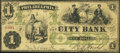 Obsoletes By State:Pennsylvania, Philadelphia, PA- City Bank $1 Jan. 15, 1862 G2a Very Good-Fine.. ...