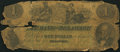 Delaware, OH- The Bank of Delaware $1 Date Faded Wolka 1019-03 About Good