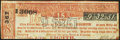 Obsoletes By State:Pennsylvania, Philadelphia, PA - Union Canal of Pennsylvania Lottery Ticket 1820 Very Fine.. ...