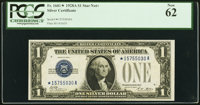 Fr. 1601* $1 1928A Silver Certificate. PCGS New 62