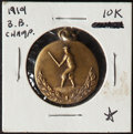 Baseball Collectibles:Others, 1919 Moose B.B.C. Champions Medallion Offered is ...