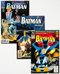 Batman-Related Box Lot (DC, 1990s) Condition: Average VF/NM