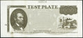 Web-Fed Press Test Plate Note circa 1992 Hessler Ex13 Extremely Fine-About Uncirculated