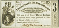 Obsoletes By State:Georgia, Savannah, GA- Planters' Bank of the State of Georgia $3 Mar. 1, 1864 G130 Crisp Uncirculated.. ...