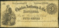 Obsoletes By State:New York, Gouverneur, NY- Egert & Co. at Charles Anthony & Co. 5¢ Oct. 20,1862 Harris H5 Very Good-Fine.. ...