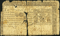 Maryland January 1, 1767 $2 Very Good