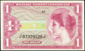 Military Payment Certificates:Series 641, Series 641 $1 Choice Crisp Uncirculated.. ...