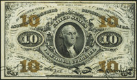 Fr. 1255 10¢ Third Issue About New