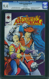 Archer & Armstrong #8 (Valiant, 1993) CGC NM 9.4 White pages