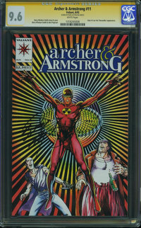 Archer & Armstrong #11 (Valiant, 1993) CGC NM+ 9.6 White pages