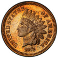 1873 1C Closed 3 PR64 Red and Brown PCGS. PCGS Population: (171/75 and 1/0+). NGC Census: (75/55 and 1/0+). CDN: $450 Wh...