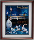 Autographs:Photos, Roger Clemens Signed 300 W, 4,000 K Photograph Display....