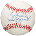 Autographs:Baseballs, Phil Rizzuto Single-Signed Baseball with Nickname....