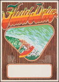 "Movie Posters:Documentary, Fluid Drive (Freemont International Pictures, 1974). Rolled, Very Fine+. Australian Poster (17.75"" X 24.5""). Surfing Documen..."