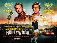 """Once Upon a Time in...Hollywood (Columbia, 2019). Rolled, Very Fine+. British Quad (30"""" X 40"""") DS Teaser. Dram..."""