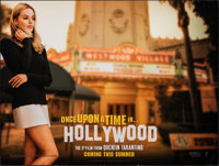 "Once Upon a Time in...Hollywood (Columbia, 2019). Rolled, Very Fine. British Quad (30"" X 40"") DS Advance. Dram..."