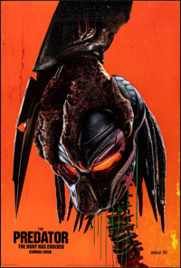 """The Predator & Other Lot (20th Century Fox, 2018). Rolled, Overall: Very Fine. One Sheet (27"""" X 40"""" &..."""