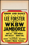 """Movie Posters:Rock and Roll, Lee Forster Lot (c.1950s). Overall: Fine+. Concert Window Cards (3) (14"""" X 22""""). Rock and Roll.. ... (Total: 3 Items)"""
