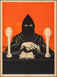 """Magic Poster (c. 1910). Fine/Very Fine on Linen. Stock Poster (28"""" X 38""""). Miscellaneous"""