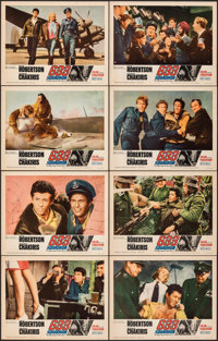 "633 Squadron & Other Lot (United Artists, 1964). Fine/Very Fine. Lobby Card Sets of 8 (2 Sets) (11"" X 14"")..."