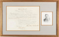 Autographs:U.S. Presidents, Theodore Roosevelt Appointment Signed...