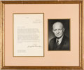"Autographs:U.S. Presidents, Dwight D. Eisenhower Typed Letter Signed ""Dwight D. Ei..."