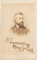 Photography:CDVs, Truman Seymour Signed Carte de Visite....