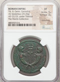 Ancients:Roman Imperial, Ancients: Drusus Caesar, for Tiberius Gemellus and Germanicus the Younger (AD 19-23). AE sestertius (34mm, 25.20 gm, 6h). NGC VF 5/5 - 2...