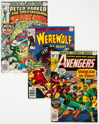 Marvel and Others Bronze Age Comics Box Lot (Marvel/Fawcett/DC, 1970s) Condition: Average FN/VF