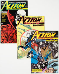 Action Comics #620-694 Near Complete Range Long Box Group (DC, 1980s-90s) Condition: Average NM-