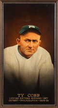 Baseball Collectibles:Others, Circa 2000 Ty Cobb Original Painting. The identity...