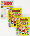 Modern Age (1980-Present):Cartoon Character, Casper Digest Winners #2/Richie Rich Holiday Digest #1 File Copies Box Lot (Harvey, 1980) Condition: Average NM-....