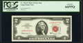 Fr. 1514* $2 1963A Legal Tender Star Note. PCGS Gem New 66PPQ