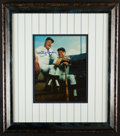 Autographs:Photos, Whitey Ford Framed, Signed Photograph. Offered is...