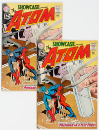 Showcase #36 The Atom - Group of 2 (DC, 1962) Condition: Average GD/VG.... (Total: 2 Comic Books)