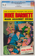 Golden Age (1938-1955):Crime, Mike Barnett, Man Against Crime #4 Crowley Copy Pedigree (Fawcett Publications, 1952) CGC NM- 9.2 Off-white pages....