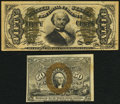 Fractional Currency:Second Issue, Fr. 1317 50¢ Second Issue Very Fine;. Fr. 1331 50¢ Third Issue Very Fine.. ... (Total: 2 notes)