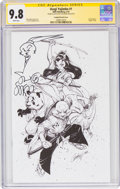 Modern Age (1980-Present):Miscellaneous, Usagi Yojimbo #1 Campbell Sketch Variant Cover - Signature Series (IDW Publishing, 2019) CGC NM/MT 9.8 White pages....