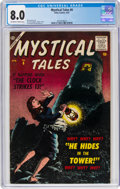 Silver Age (1956-1969):Horror, Mystical Tales #6 (Atlas, 1957) CGC VF 8.0 Off-white to white pages....