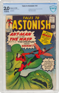 Tales to Astonish #44 (Marvel, 1963) CBCS VG+ 4.5 Off-white pages