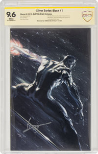 Silver Surfer: Black #1 Dell'Otto Virgin Exclusive Variant - Witnessed Signature Edition (Marvel, 2019) CBCS NM+ 9.6 Whi...
