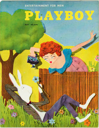 Playboy #6 (HMH Publishing, 1954) Condition: FN/VF