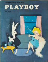 Playboy #7 (HMH Publishing, 1954) Condition: FN/VF