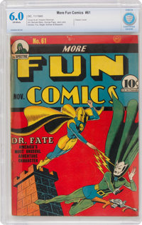 More Fun Comics #61 (DC, 1940) CBCS FN 6.0 Off-white pages