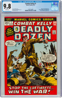 Combat Kelly #1 (Marvel, 1972) CGC NM/MT 9.8 White pages