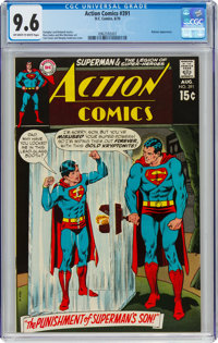 Action Comics #391 (DC, 1970) CGC NM+ 9.6 Off-white to white pages