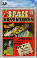 Silver Age (1956-1969):Science Fiction, Space Adventures #33 (Charlton, 1960) CGC GD/VG 3.0 Off-white to white pages....