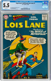 Superman's Girlfriend Lois Lane #1 (DC, 1958) CGC FN- 5.5 White pages
