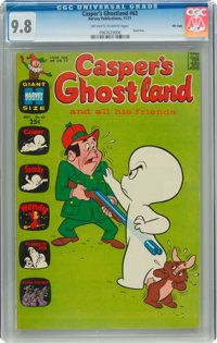 Casper's Ghostland #63 File Copy (Harvey, 1971) CGC NM/MT 9.8 Off-white to white pages